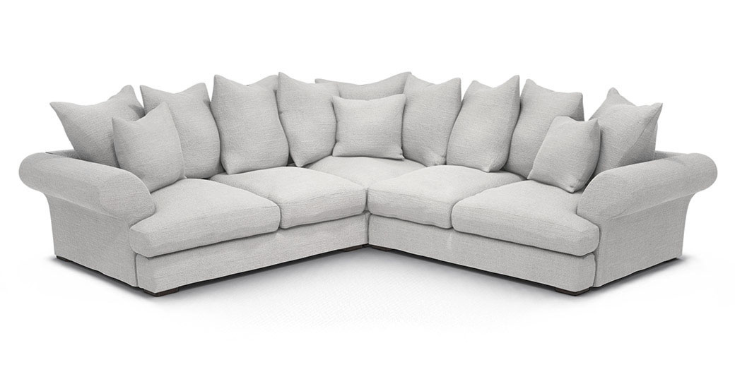 Lincoln Corner Unit corner unit sofa sofa - Raft Furniture, London